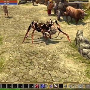 Скин паука